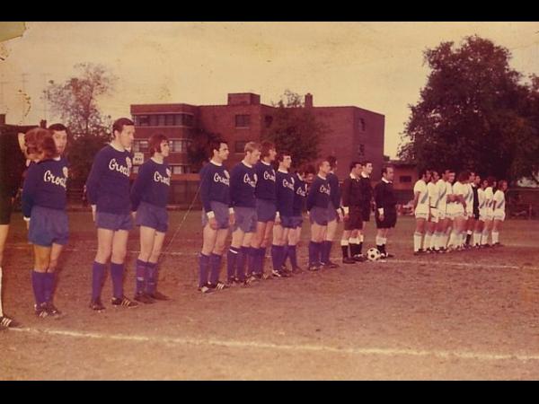 1972 NSL regular season game between Croatia Hamilton and Toronto Italia, televised by the Canadian Broadcasting Corporation (CBC).