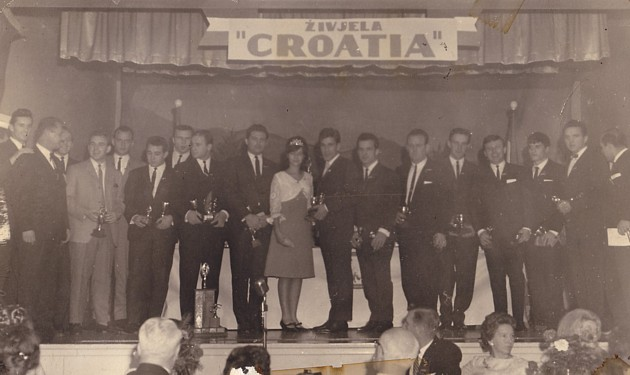 Long Live Croatia: The 1964 banquet in Hamilton.