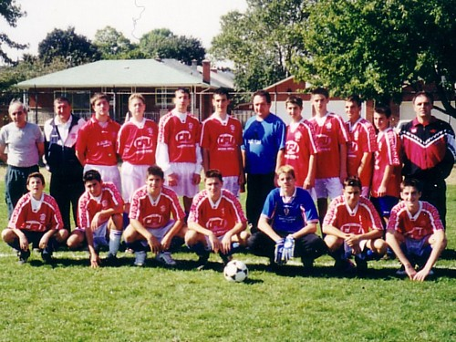 The remaining youth team in 2001 led by Ivan Staresina (Click to enlarge).