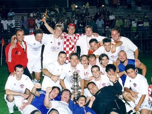 2005 Hamilton Spectator Cup Champions (Click to enlarge).