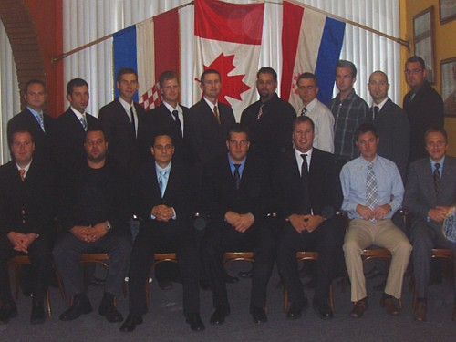 2007 50th Anniversary Executive Board (Click to enlarge).