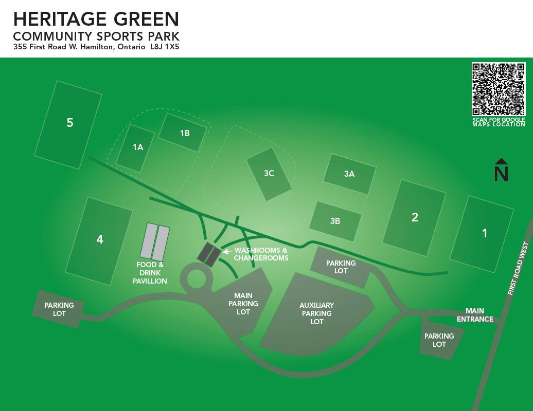 Heritage Green Site Map