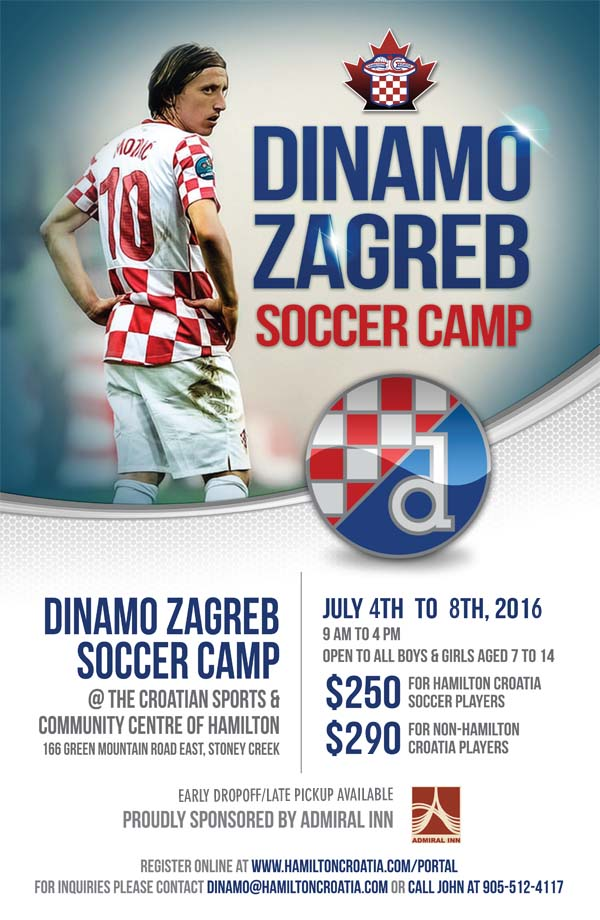 Dinamo Camp back for Year Two!