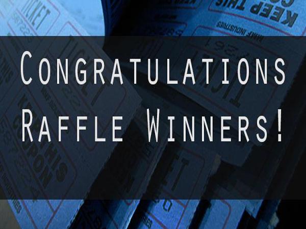 2017 Raffle Winners!