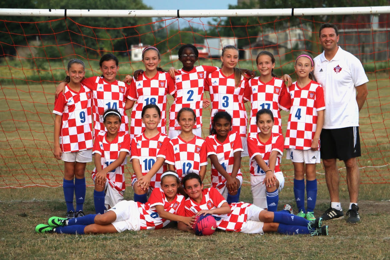 2005 Girls Team Photo